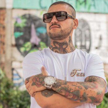 Camiseta Texx Branca Old Califa