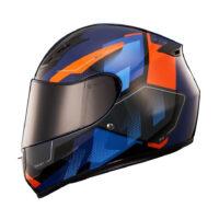 capacete-x11-trust-pro-transit-azul-e-laranja