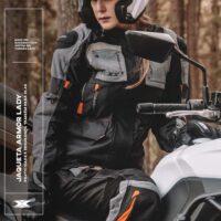 Jaqueta Texx Armor Ld Feminina Laranja-10