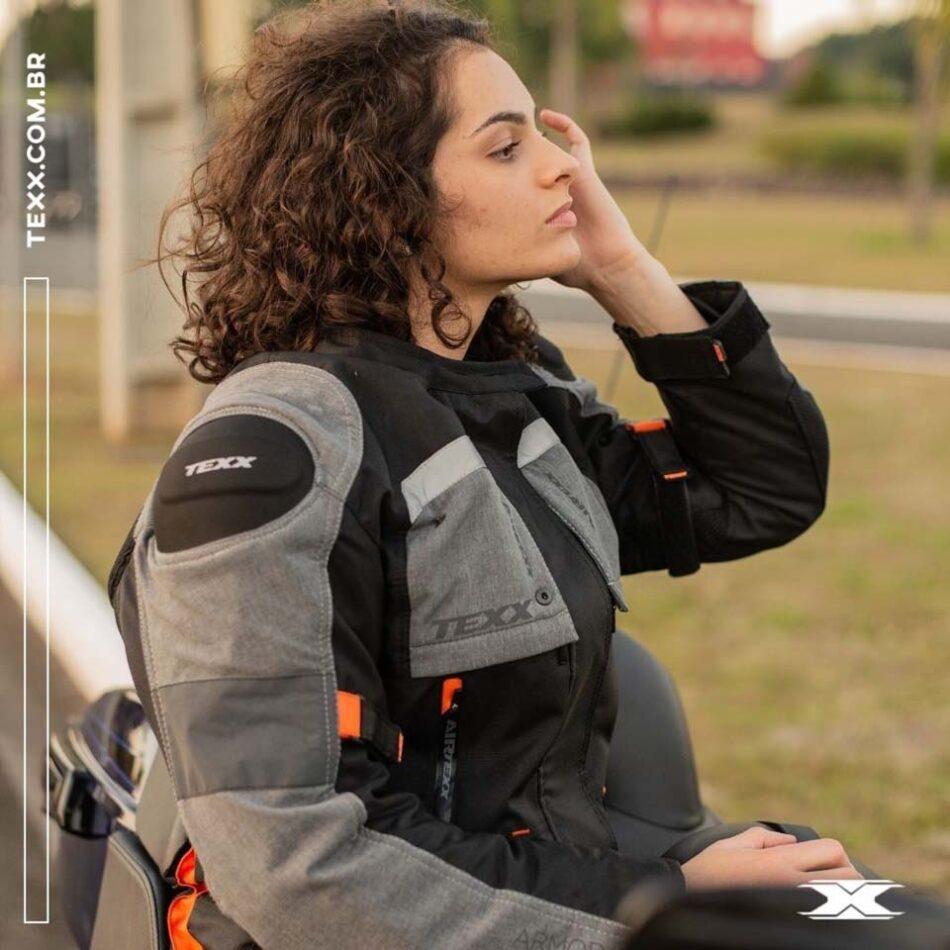 Jaqueta Texx Armor Ld Feminina Laranja