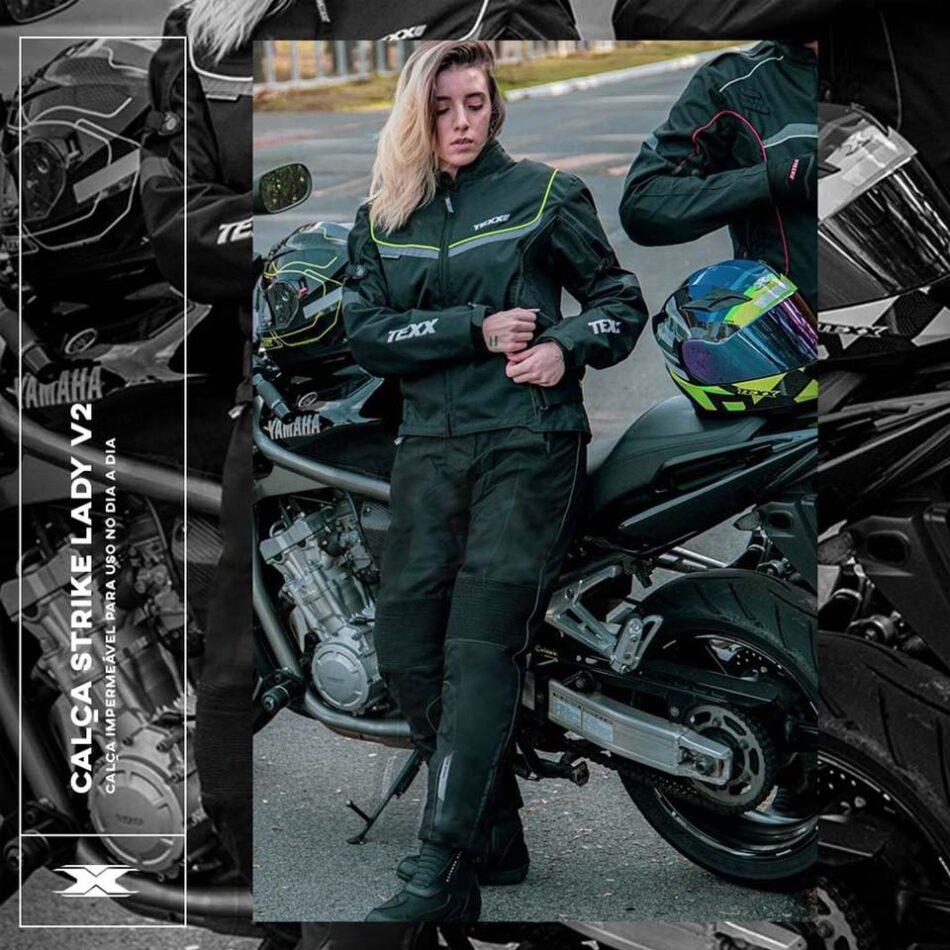 Jaqueta Texx New Strike V2 Ld Feminina Preta E Verde
