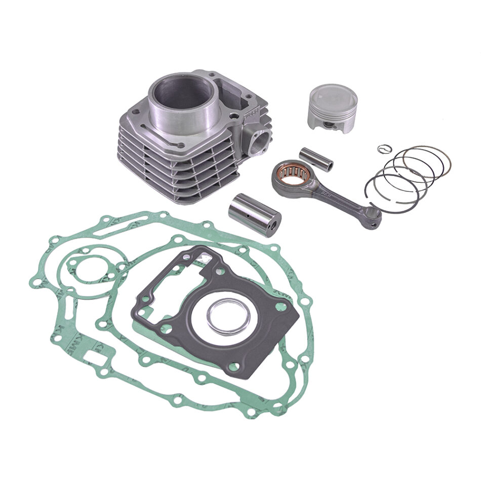 Kit Motor Kmp C/biela Txk /cilindro/pistao/anel/jg Junta Completo Cg 150 04 A 15 - Nxr Bros 150 06 A 15