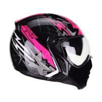 capacete-peels-mirage-star-preto-rosa-4
