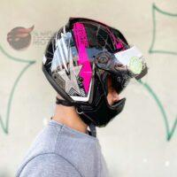 capacete-peels-mirage-star-preto-rosa