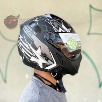 Capacete Peels Mirage Star Preto Fosco Grafite