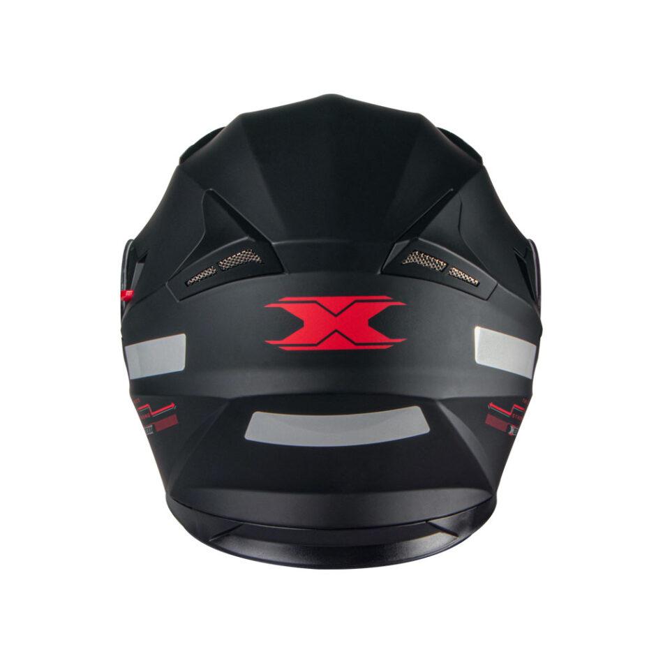 Capacete Texx G2 Solido Preto Vermelho