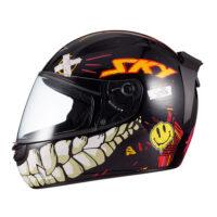 capacete-sky-two-chaos-preto-fosco-transf-laranja