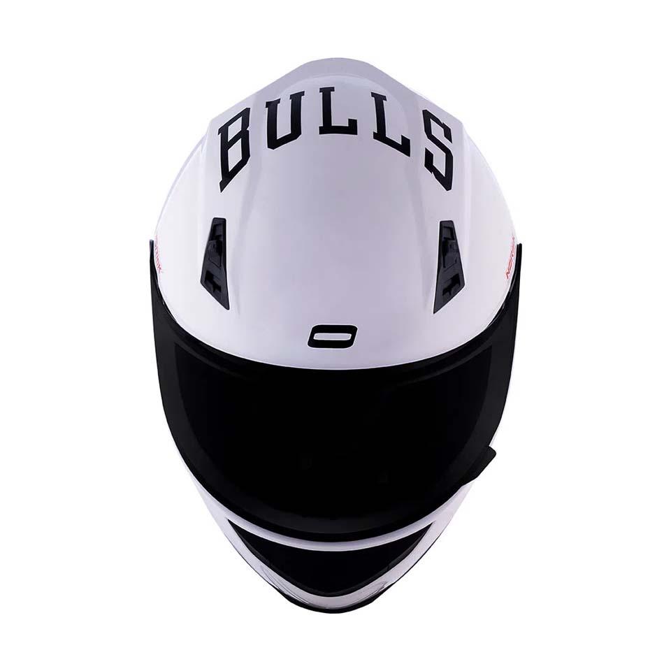 Capacete Norisk Ff391 Chicago Bulls White